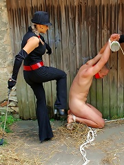 Dominatrix Babe Kidnaps, Humiliates and Tortuers Unsuspecting Guy